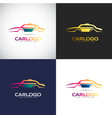car logo template for your company brand vector image vector image