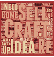 How To Sell Your Crafts text background wordcloud vector image vector image