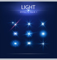 light effects pack 1 vector image