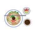 noodle vector image vector image