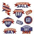 Presidents day set vector image vector image
