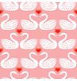 swan pattern vector image vector image