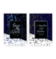 wedding invitation card save the date wedding vector image vector image