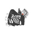 born to be wild 3 vector image vector image
