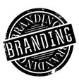 Branding rubber stamp vector image vector image