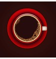 coffe cup 3 vector image vector image