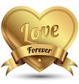 Gold badges set promotion guarantee vector image