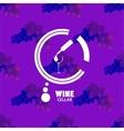 Logo Wine Cellar vector image vector image