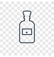 olive oil concept linear icon isolated on vector image vector image