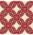 red seamless pattern ornament motif vector image vector image
