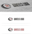 Wheels Cars Logo vector image
