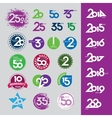 collection of icons with numbers