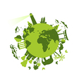 Animals and attractions on the planet vector image vector image