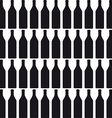Background with bottles COLOR silhouette vector image