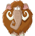 brown mammoth vector image