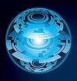 Fantasy Navigation Sphere vector image vector image
