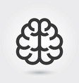icon brain medical icon line style for any vector image