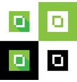 letter o logo icon desgin simple vector image vector image