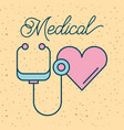 medical health care vector image