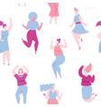 woman dance vector image vector image