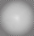 Zigzag pattern with Dynamic irregular lines vector image