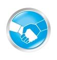 handshake business deal vector image