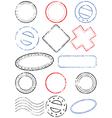 postmark vector image