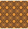 Seamless oriental Print Retro Ornate Mandala vector image vector image