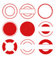stamps 00 vector image vector image