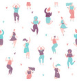 woman dance vector image