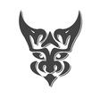 chimera head fantasy vector image