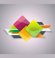 abstract composition design for business vector image vector image