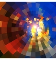 Abstract shining mosaic background vector image vector image