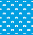 chapel pattern seamless blue vector image vector image