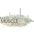 exercise and low carb diet s make poor partners vector image vector image