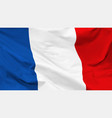 flag french republic vector image