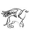 griff greek mythological creature beast image vector image vector image