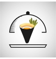 japanese food design vector image vector image