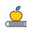 knowledge outline icon vector image
