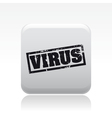 Pc virus icon vector image