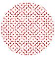 random polka 00 13 01 vector image vector image