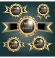 set of logos best choice vector image