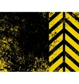 A grungy and worn hazard stripes texture EPS 8