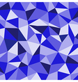 Blue Ice Mosaic Background Creative Business Desi vector image vector image