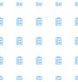 check list icon pattern seamless white background vector image vector image