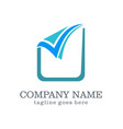 check list sign business logo vector image
