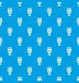 egyptian vase pattern seamless blue vector image