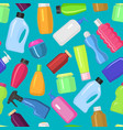 household bottles cleaning tidying up vector image vector image