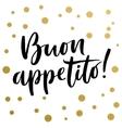Italian calligraphy print vector image vector image