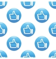 Like sign pattern vector image vector image